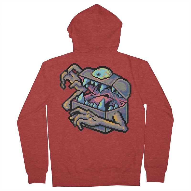A Deadly Mimic Men's French Terry Zip-Up Hoody by Things You Might Find In A Dungeon