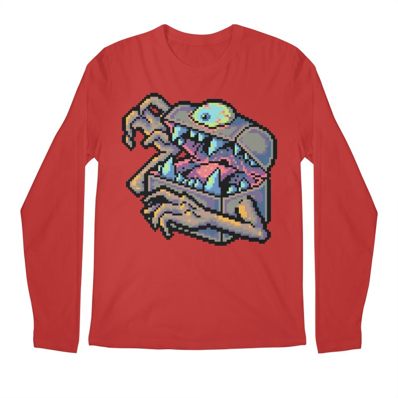 A Deadly Mimic Men's Regular Longsleeve T-Shirt by Things You Might Find In A Dungeon