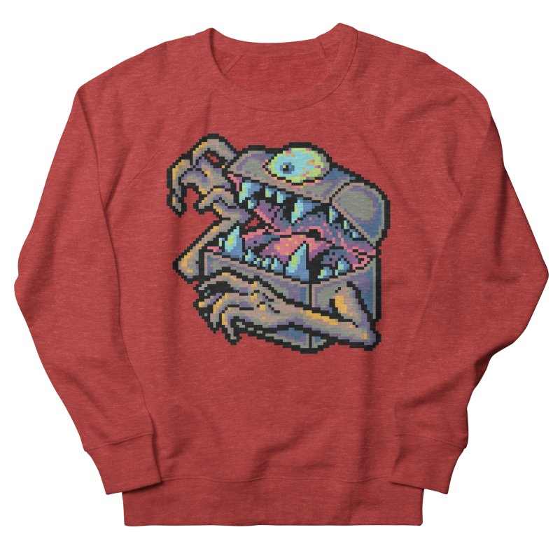 A Deadly Mimic Women's French Terry Sweatshirt by Things You Might Find In A Dungeon