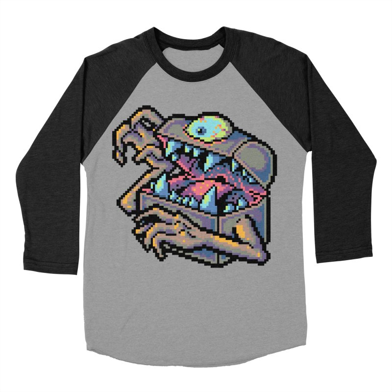 A Deadly Mimic Women's Baseball Triblend Longsleeve T-Shirt by Things You Might Find In A Dungeon