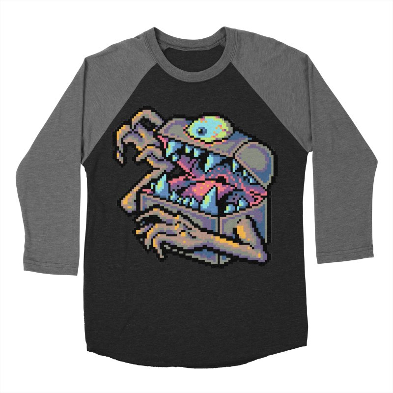 A Deadly Mimic Men's Baseball Triblend Longsleeve T-Shirt by Things You Might Find In A Dungeon