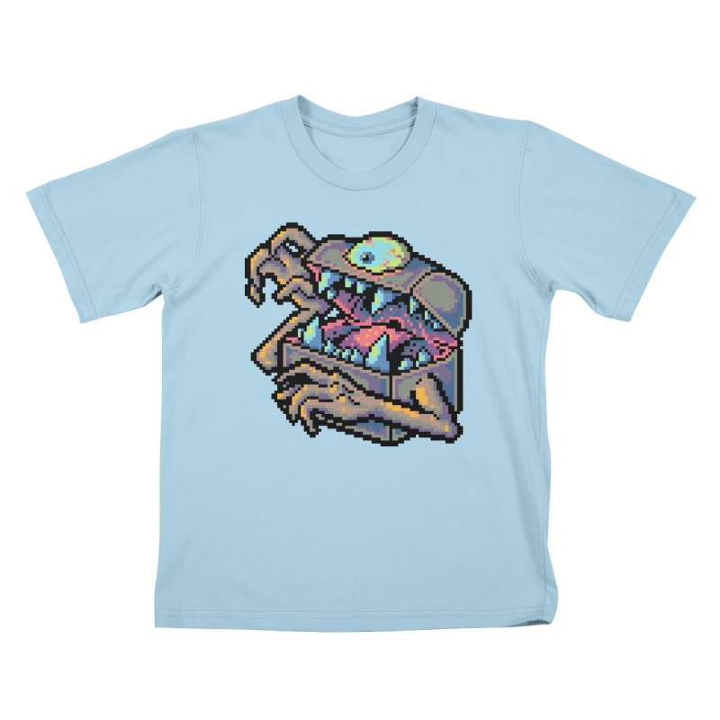 A Deadly Mimic Kids T-Shirt by Things You Might Find In A Dungeon