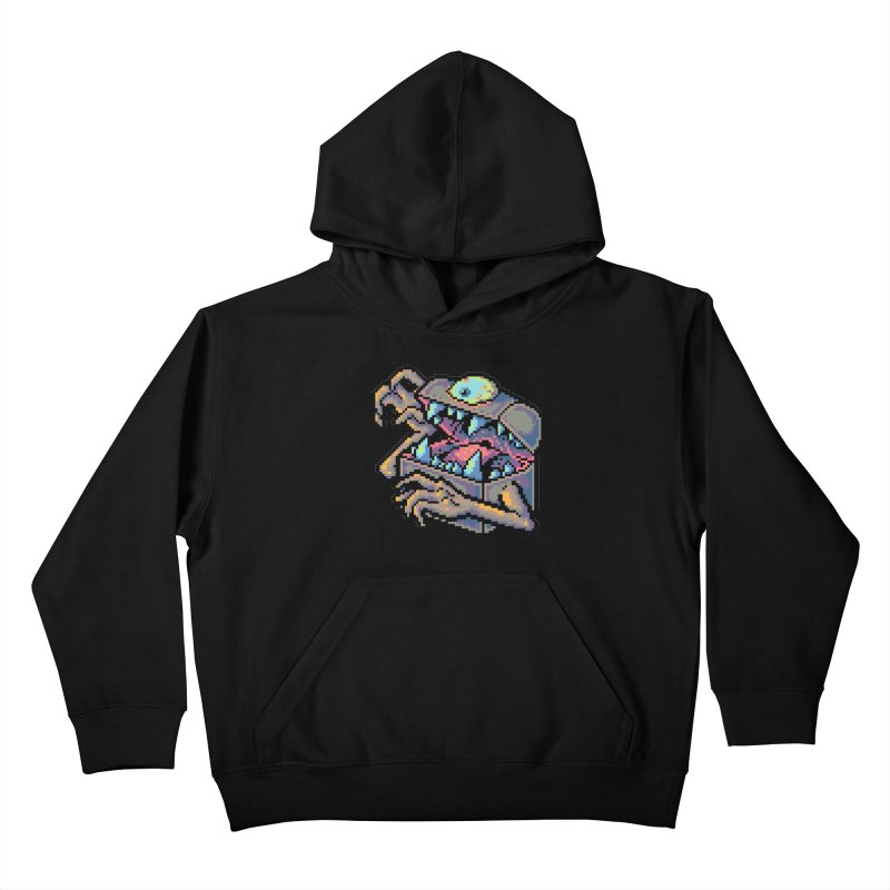 A Deadly Mimic Kids Pullover Hoody by Things You Might Find In A Dungeon