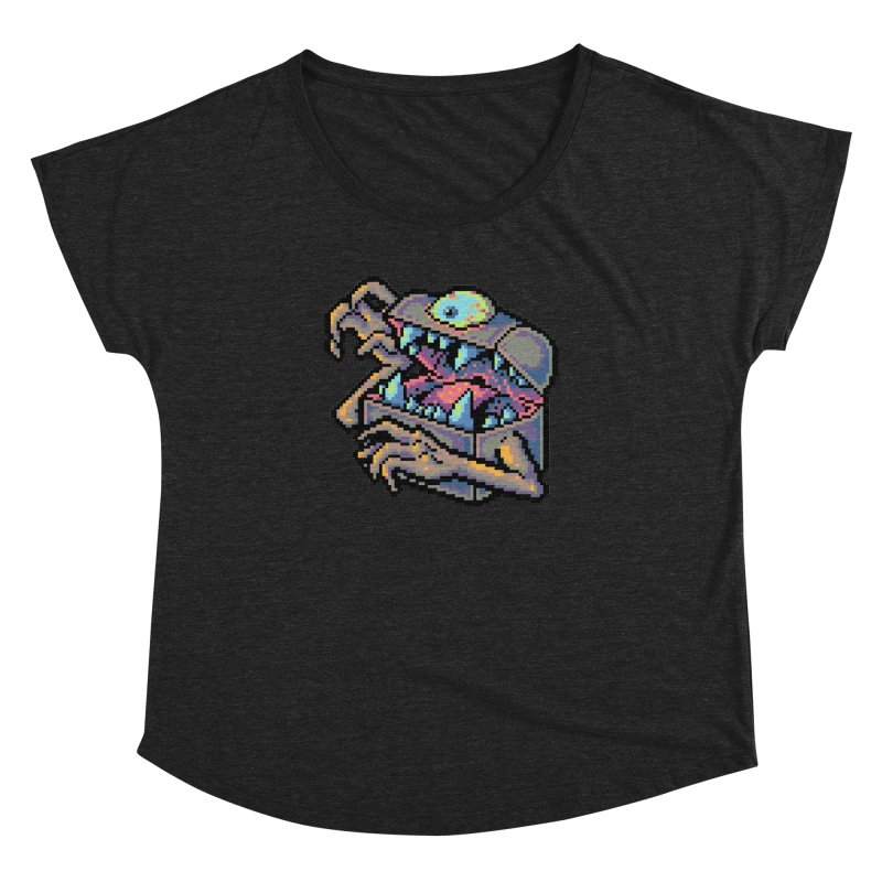A Deadly Mimic Women's Dolman Scoop Neck by Things You Might Find In A Dungeon