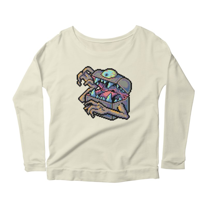 A Deadly Mimic Women's Scoop Neck Longsleeve T-Shirt by Things You Might Find In A Dungeon
