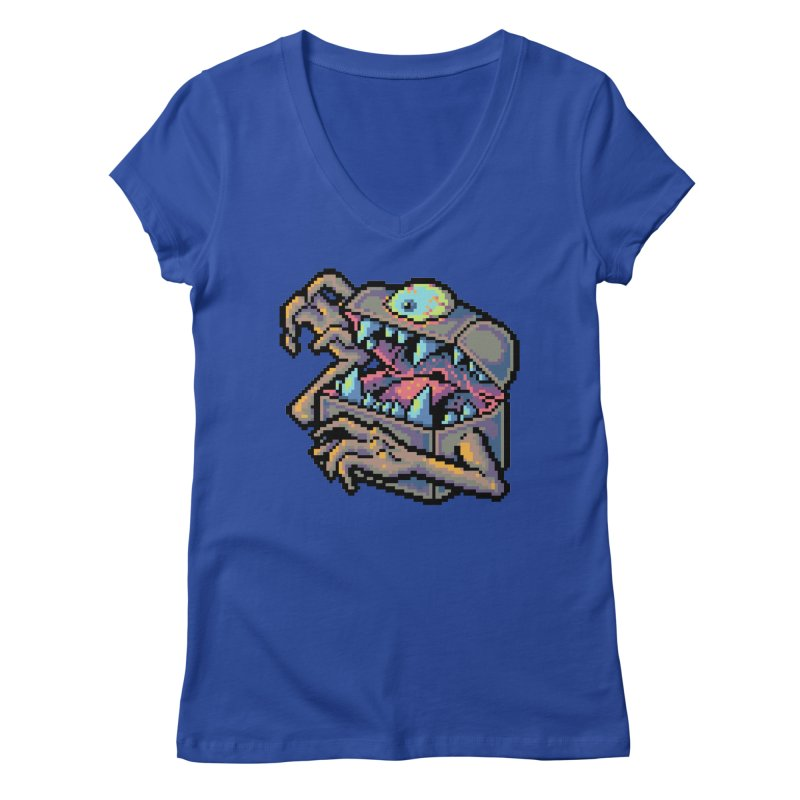 A Deadly Mimic Women's Regular V-Neck by Things You Might Find In A Dungeon