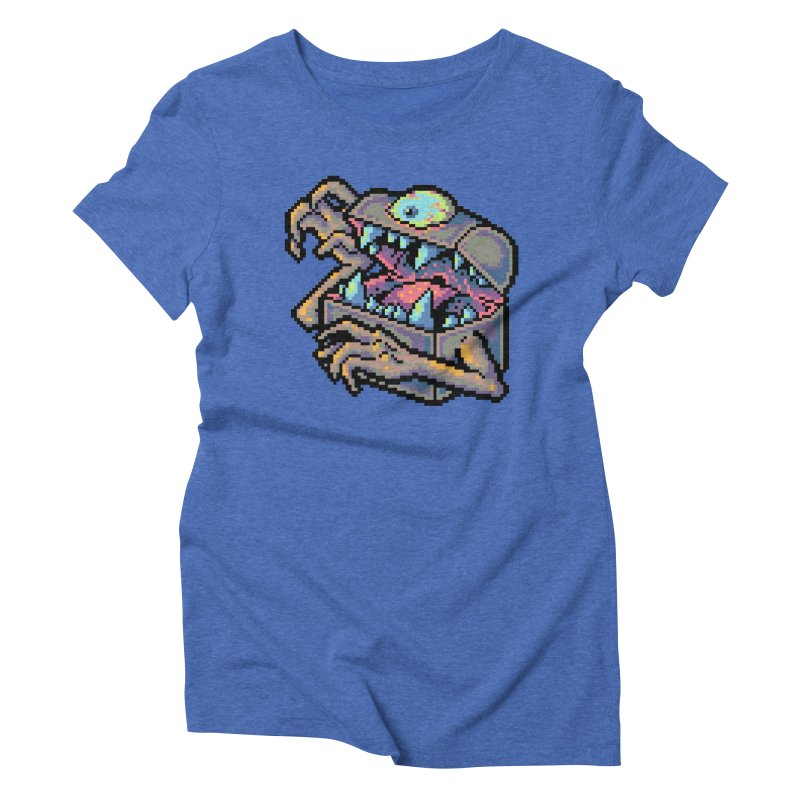 A Deadly Mimic Women's Triblend T-Shirt by Things You Might Find In A Dungeon
