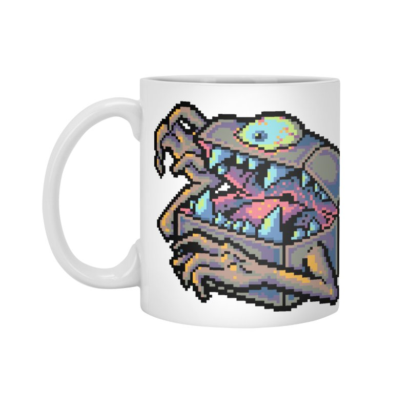 A Deadly Mimic Accessories Standard Mug by Things You Might Find In A Dungeon