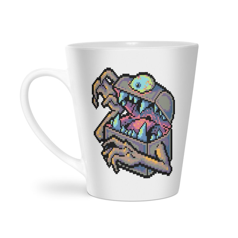 A Deadly Mimic Accessories Latte Mug by Things You Might Find In A Dungeon