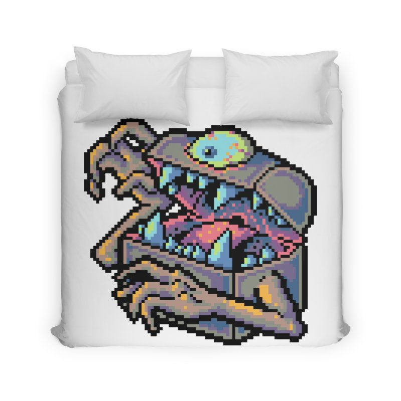 A Deadly Mimic Home Duvet by Things You Might Find In A Dungeon