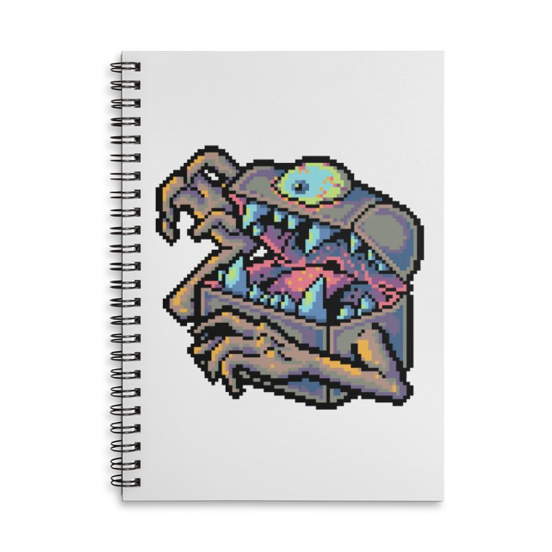 A Deadly Mimic Accessories Lined Spiral Notebook by Things You Might Find In A Dungeon