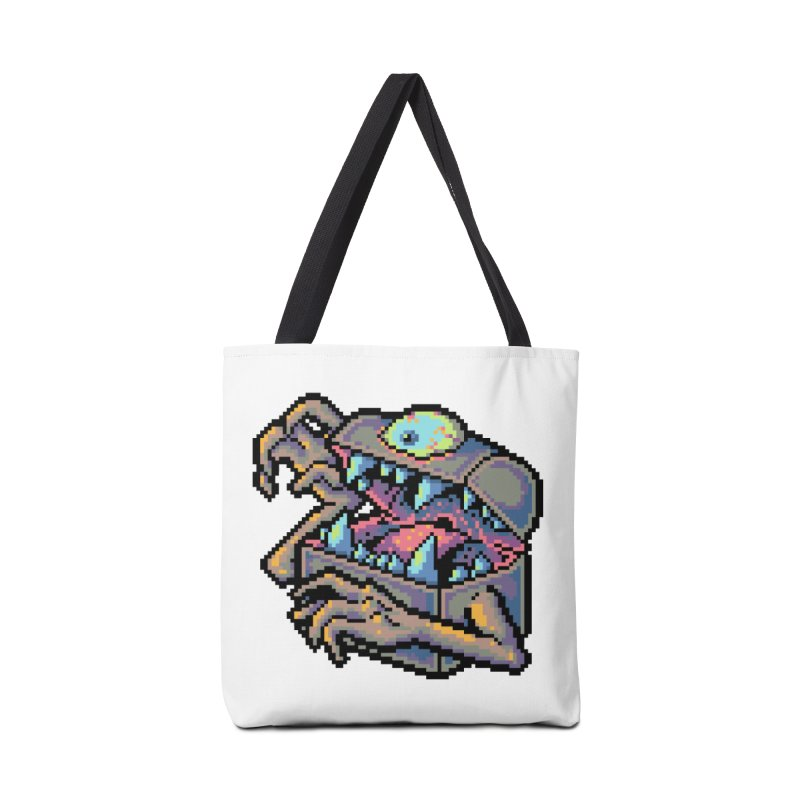 A Deadly Mimic Accessories Tote Bag Bag by Things You Might Find In A Dungeon