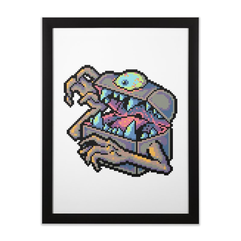 A Deadly Mimic Home Framed Fine Art Print by Things You Might Find In A Dungeon