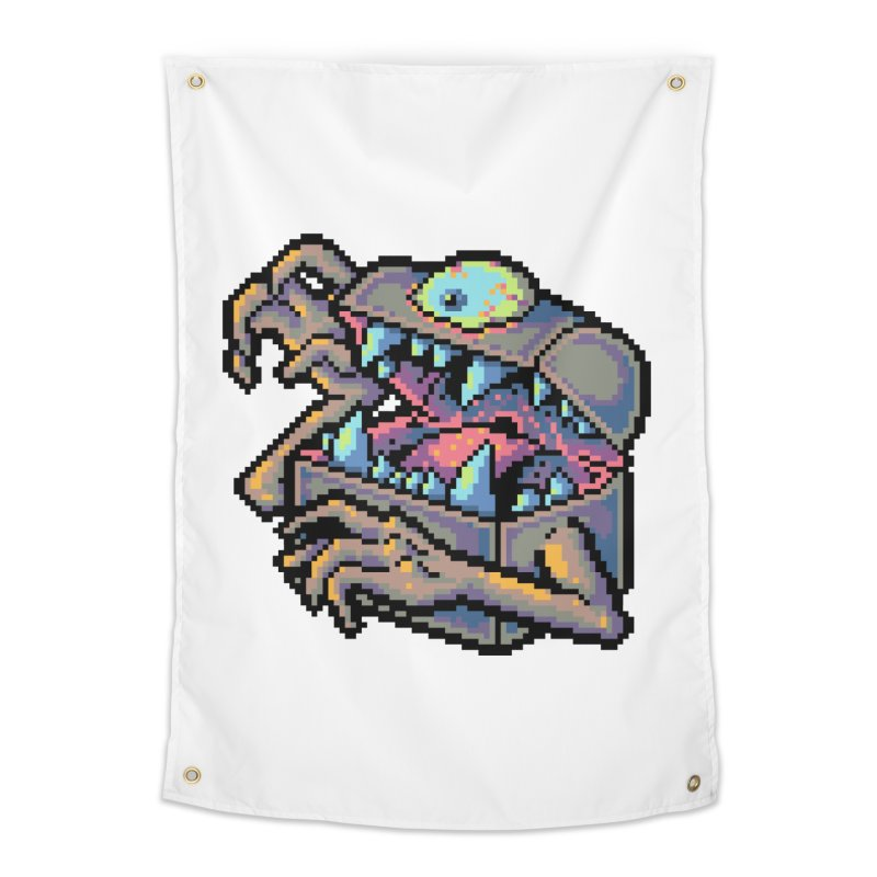 A Deadly Mimic Home Tapestry by Things You Might Find In A Dungeon