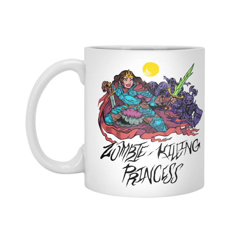 Zombie-Killing Princess (black text) Accessories Standard Mug by Things You Might Find In A Dungeon