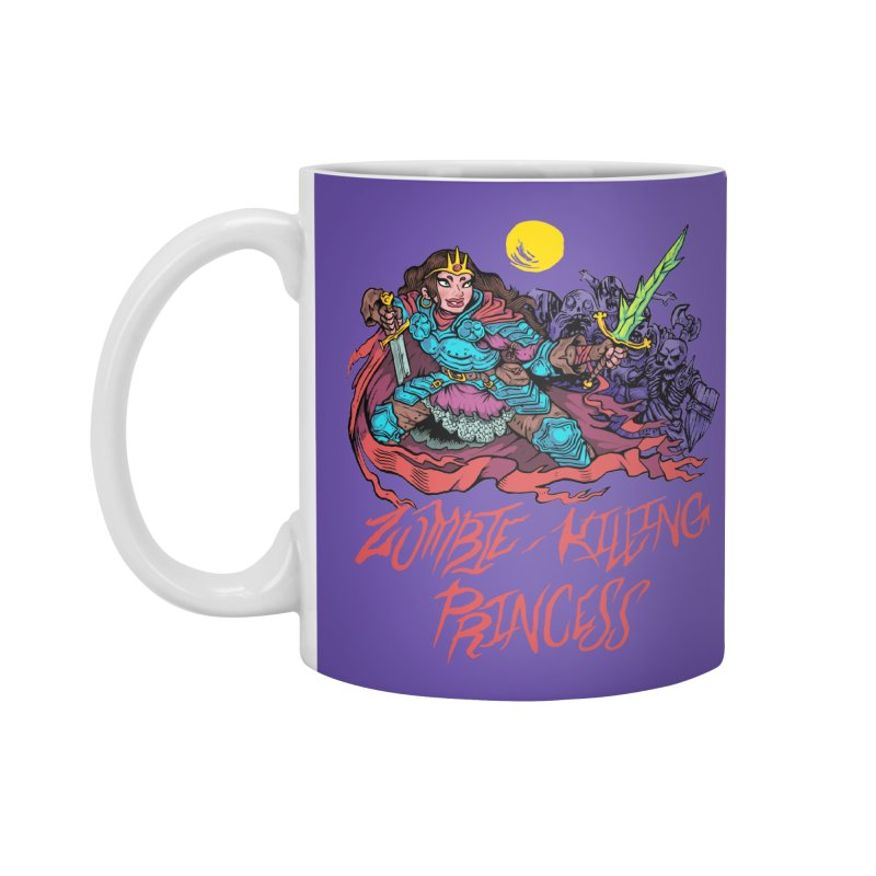 Zombie-Killing Princess (red text) Accessories Standard Mug by Things You Might Find In A Dungeon