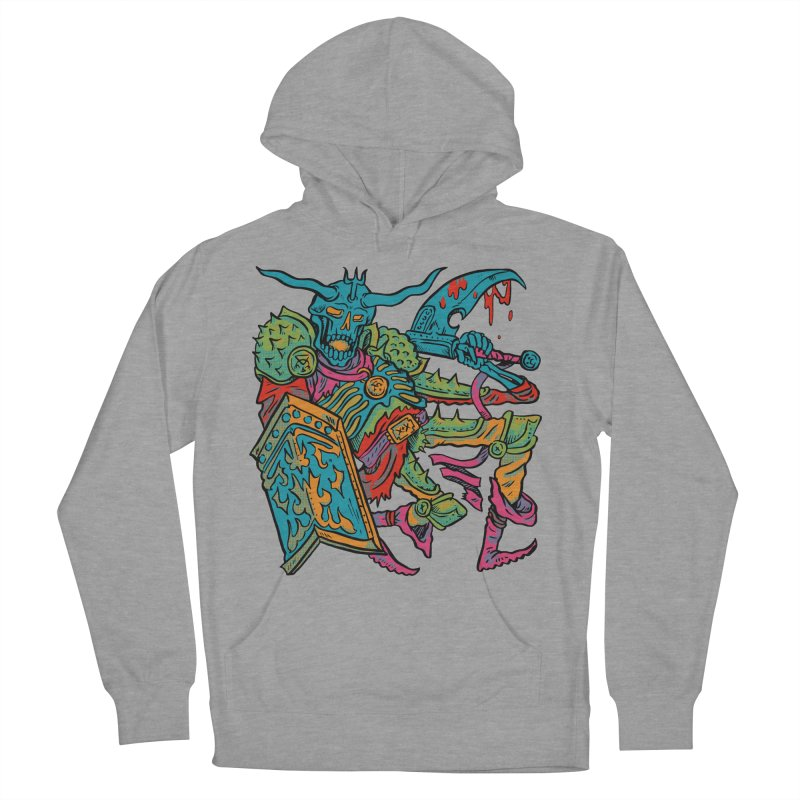 Vorst the Undead Paladin  Men's French Terry Pullover Hoody by Things You Might Find In A Dungeon