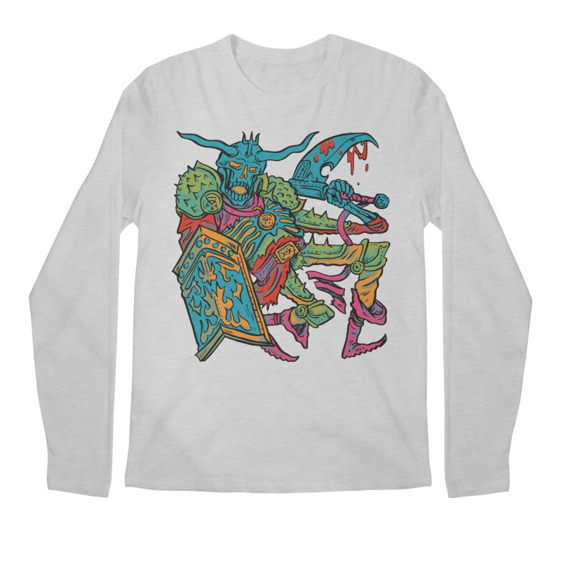 Vorst the Undead Paladin  Men's Regular Longsleeve T-Shirt by Things You Might Find In A Dungeon