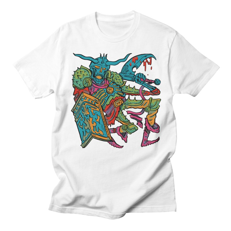 Vorst the Undead Paladin  Men's Regular T-Shirt by Things You Might Find In A Dungeon