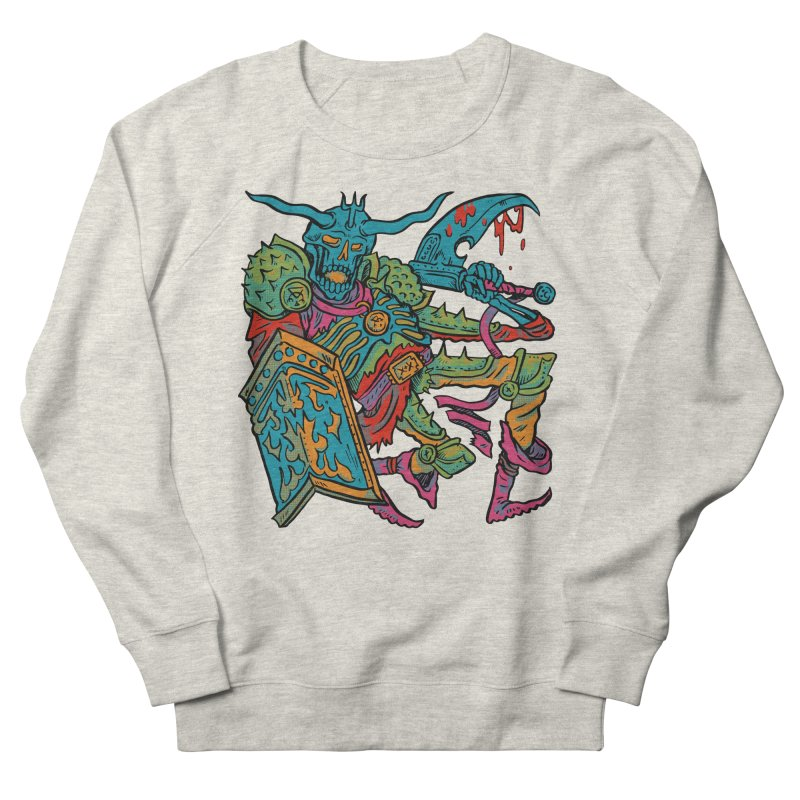 Vorst the Undead Paladin  Women's French Terry Sweatshirt by Things You Might Find In A Dungeon