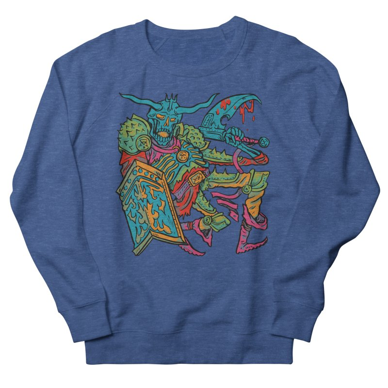Vorst the Undead Paladin  Men's French Terry Sweatshirt by Things You Might Find In A Dungeon