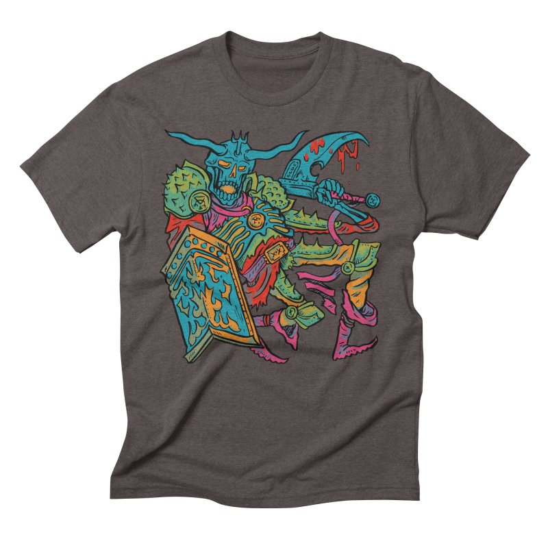 Vorst the Undead Paladin  Men's Triblend T-Shirt by Things You Might Find In A Dungeon