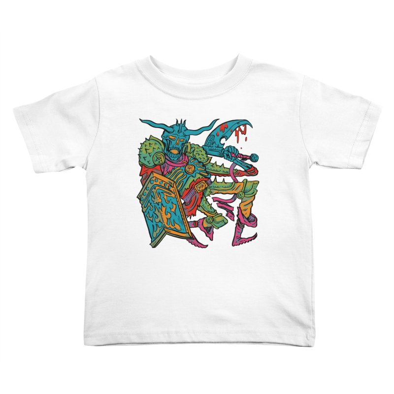 Vorst the Undead Paladin  Kids Toddler T-Shirt by Things You Might Find In A Dungeon