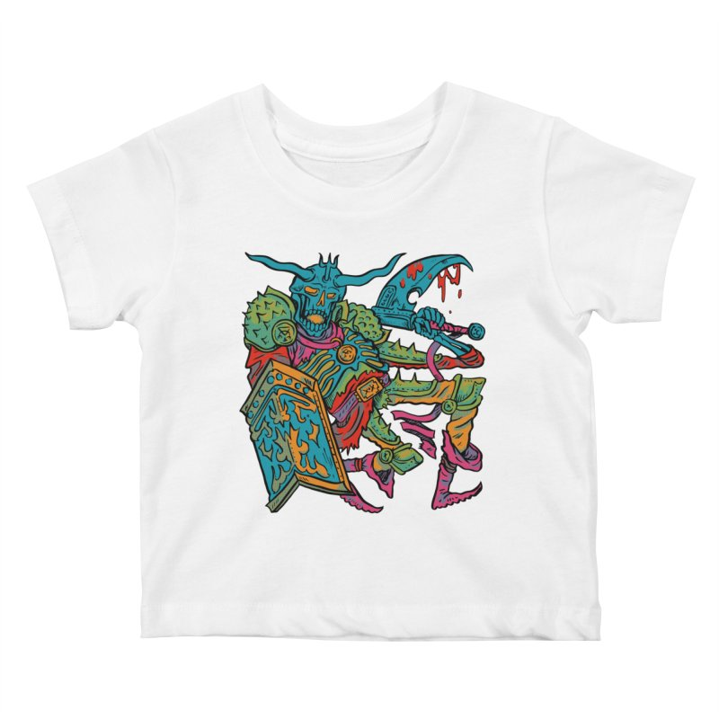 Vorst the Undead Paladin  Kids Baby T-Shirt by Things You Might Find In A Dungeon