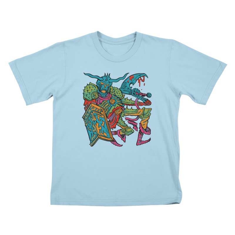 Vorst the Undead Paladin  Kids T-Shirt by Things You Might Find In A Dungeon