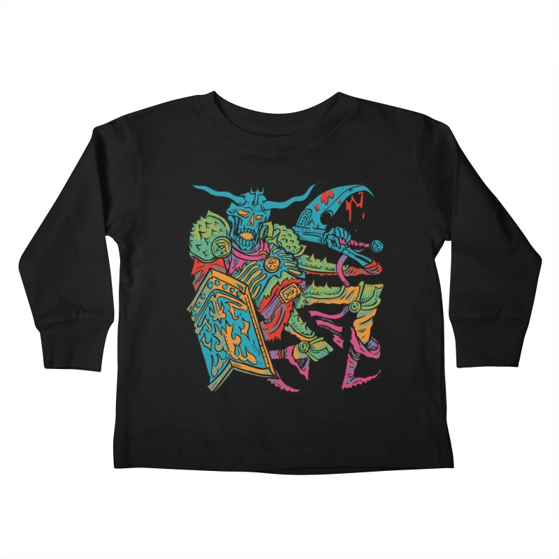 Vorst the Undead Paladin  Kids Toddler Longsleeve T-Shirt by Things You Might Find In A Dungeon