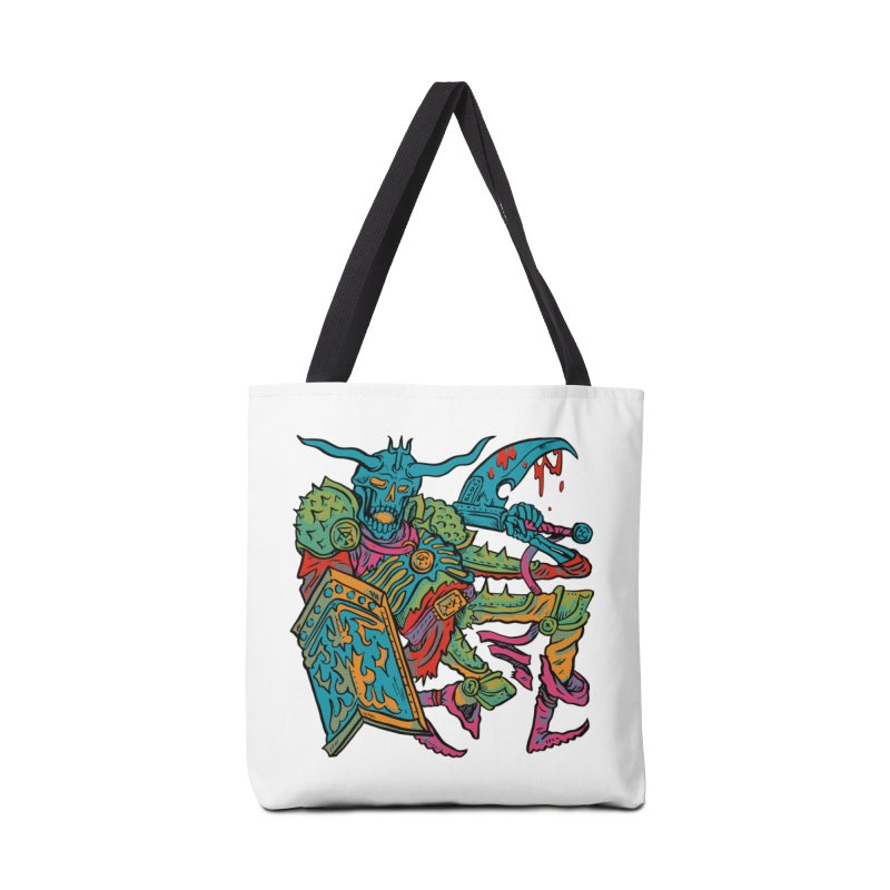 Vorst the Undead Paladin  Accessories Tote Bag Bag by Things You Might Find In A Dungeon