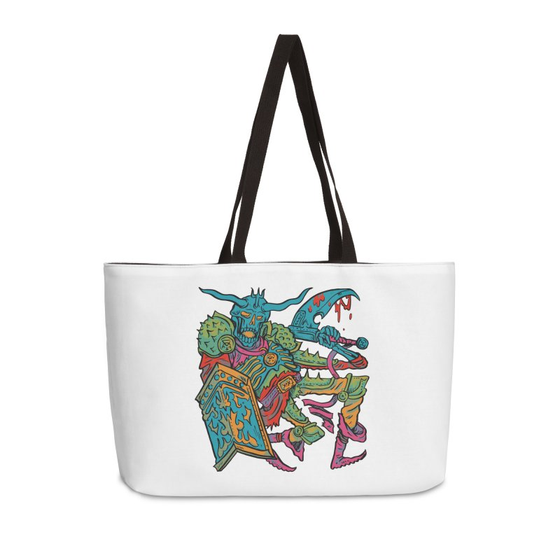 Vorst the Undead Paladin  Accessories Weekender Bag Bag by Things You Might Find In A Dungeon