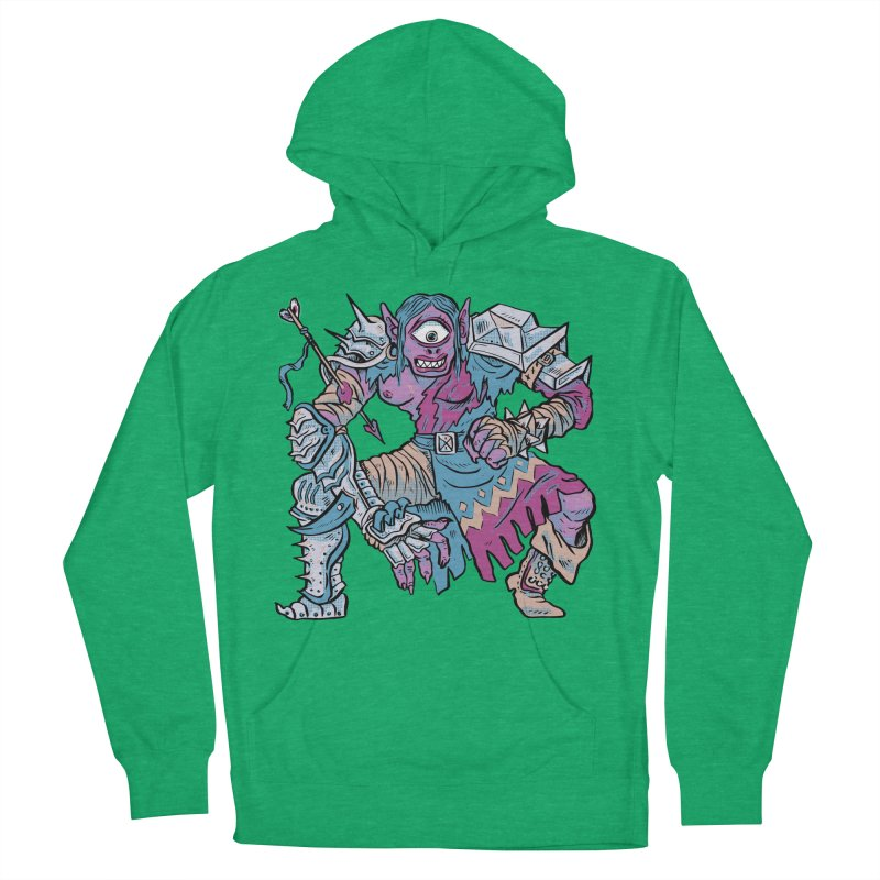 Moira the Challenger Women's French Terry Pullover Hoody by Things You Might Find In A Dungeon