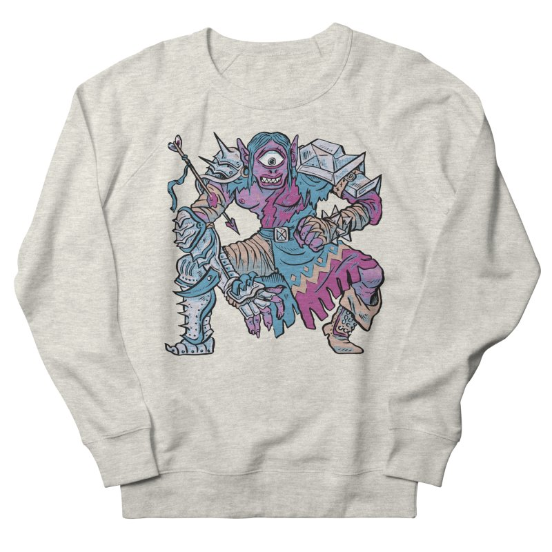 Moira the Challenger Women's French Terry Sweatshirt by Things You Might Find In A Dungeon