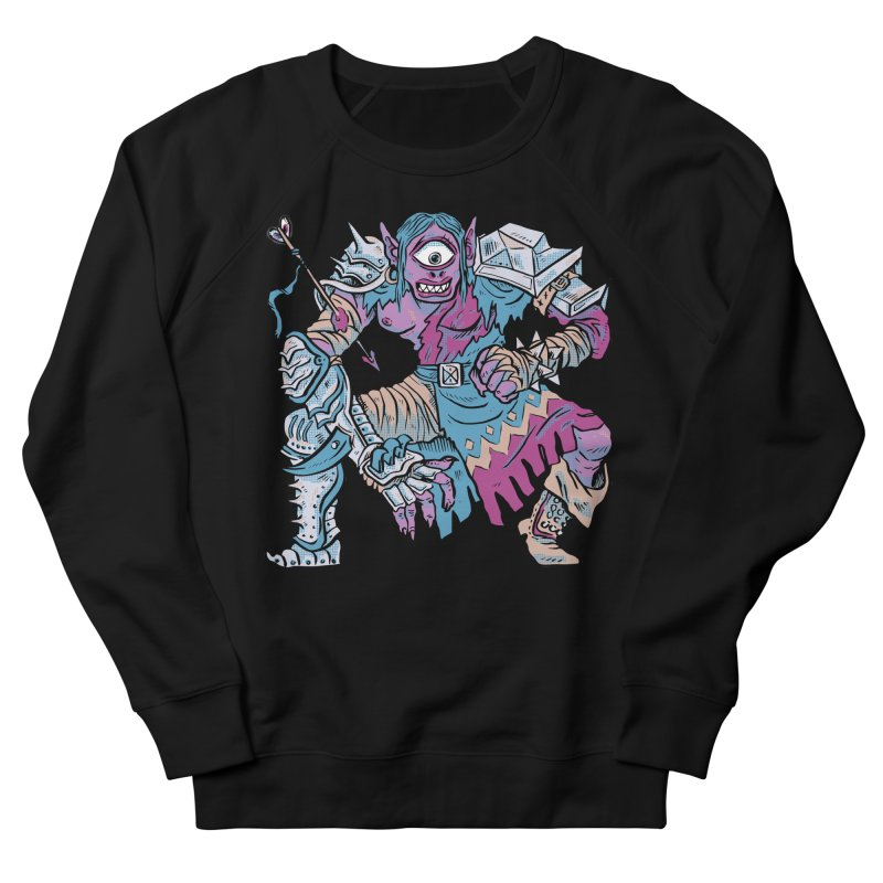 Moira the Challenger Men's French Terry Sweatshirt by Things You Might Find In A Dungeon