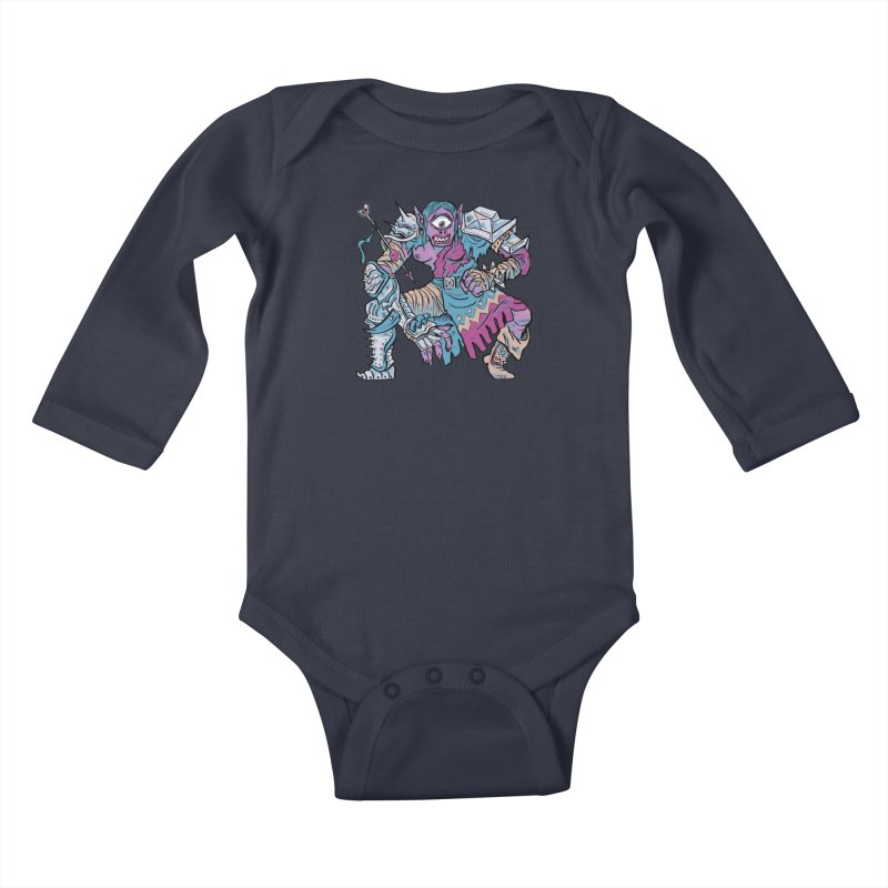 Moira the Challenger Kids Baby Longsleeve Bodysuit by Things You Might Find In A Dungeon