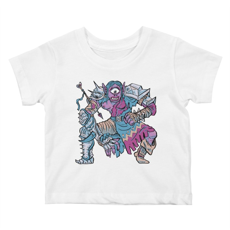 Moira the Challenger Kids Baby T-Shirt by Things You Might Find In A Dungeon