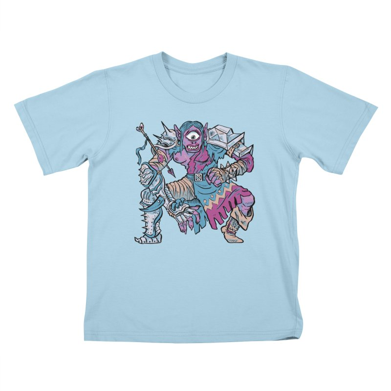 Moira the Challenger Kids T-Shirt by Things You Might Find In A Dungeon
