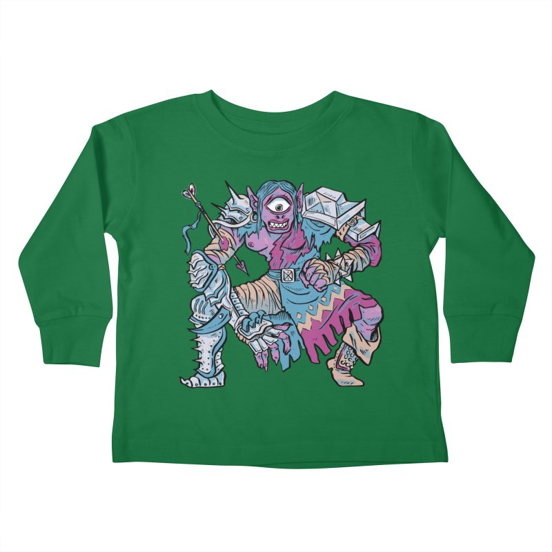Moira the Challenger Kids Toddler Longsleeve T-Shirt by Things You Might Find In A Dungeon