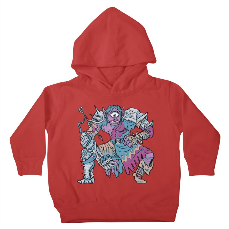 Moira the Challenger Kids Toddler Pullover Hoody by Things You Might Find In A Dungeon