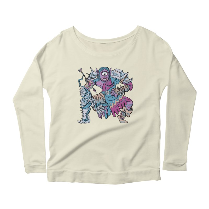 Moira the Challenger Women's Scoop Neck Longsleeve T-Shirt by Things You Might Find In A Dungeon