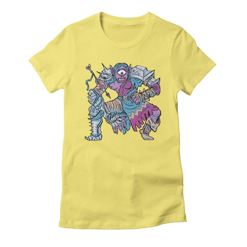 Moira the Challenger Women's Fitted T-Shirt by Things You Might Find In A Dungeon