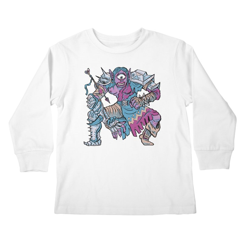 Moira the Challenger Kids Longsleeve T-Shirt by Things You Might Find In A Dungeon