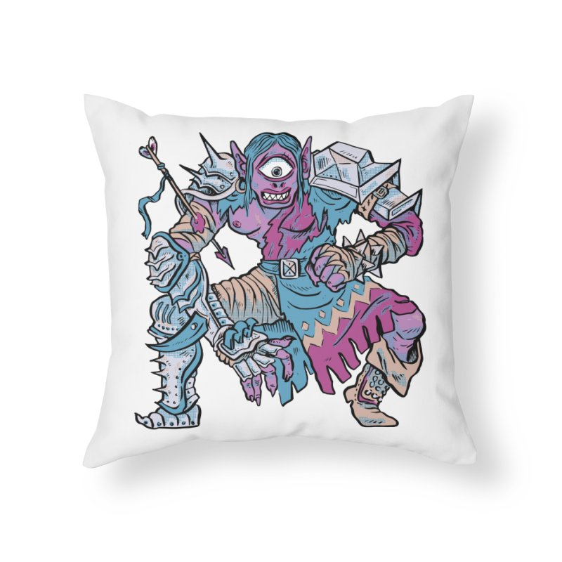 Moira the Challenger Home Throw Pillow by Things You Might Find In A Dungeon