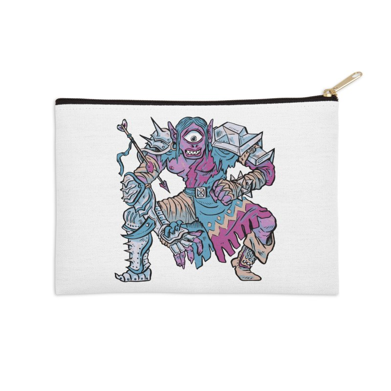 Moira the Challenger Accessories Zip Pouch by Things You Might Find In A Dungeon