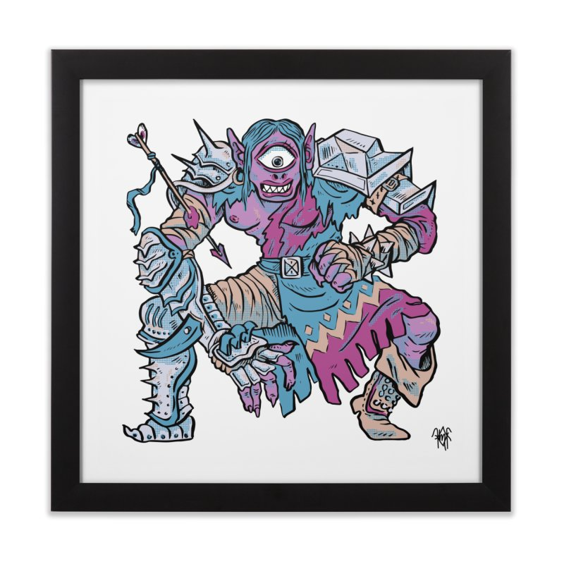 Moira the Challenger Home Framed Fine Art Print by Things You Might Find In A Dungeon