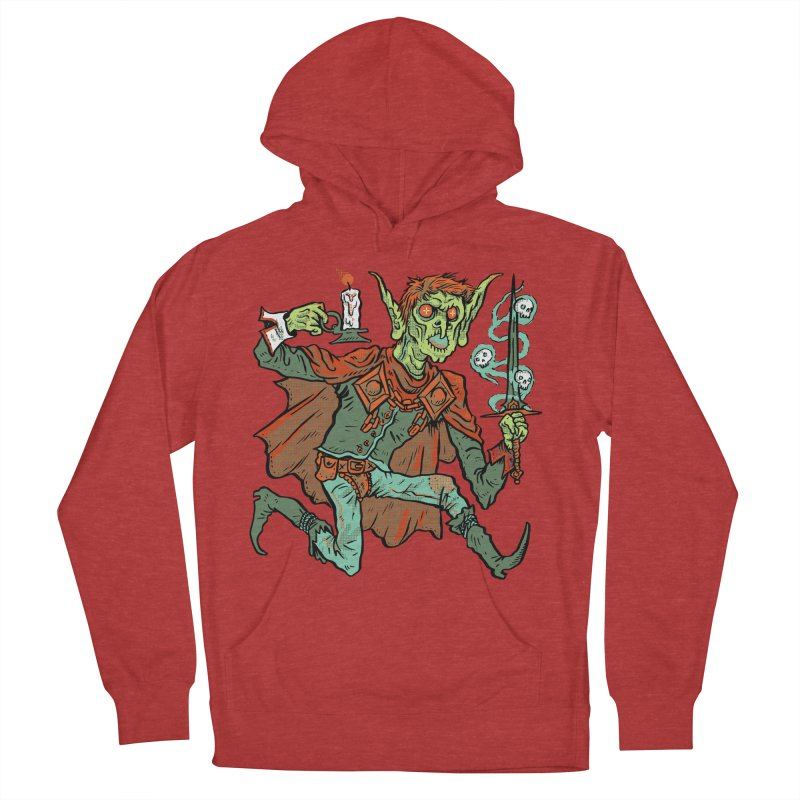 Gluborg Duke of Shadows Women's French Terry Pullover Hoody by Things You Might Find In A Dungeon