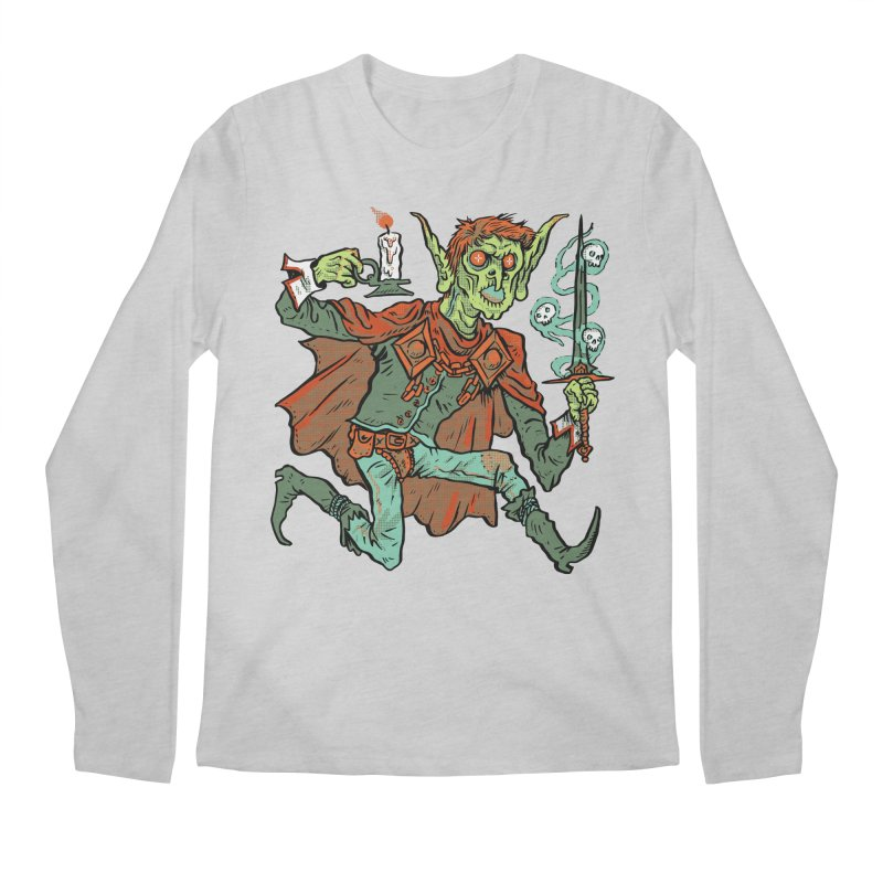 Gluborg Duke of Shadows Men's Regular Longsleeve T-Shirt by Things You Might Find In A Dungeon