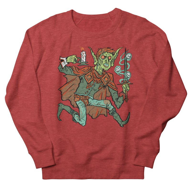 Gluborg Duke of Shadows Women's French Terry Sweatshirt by Things You Might Find In A Dungeon