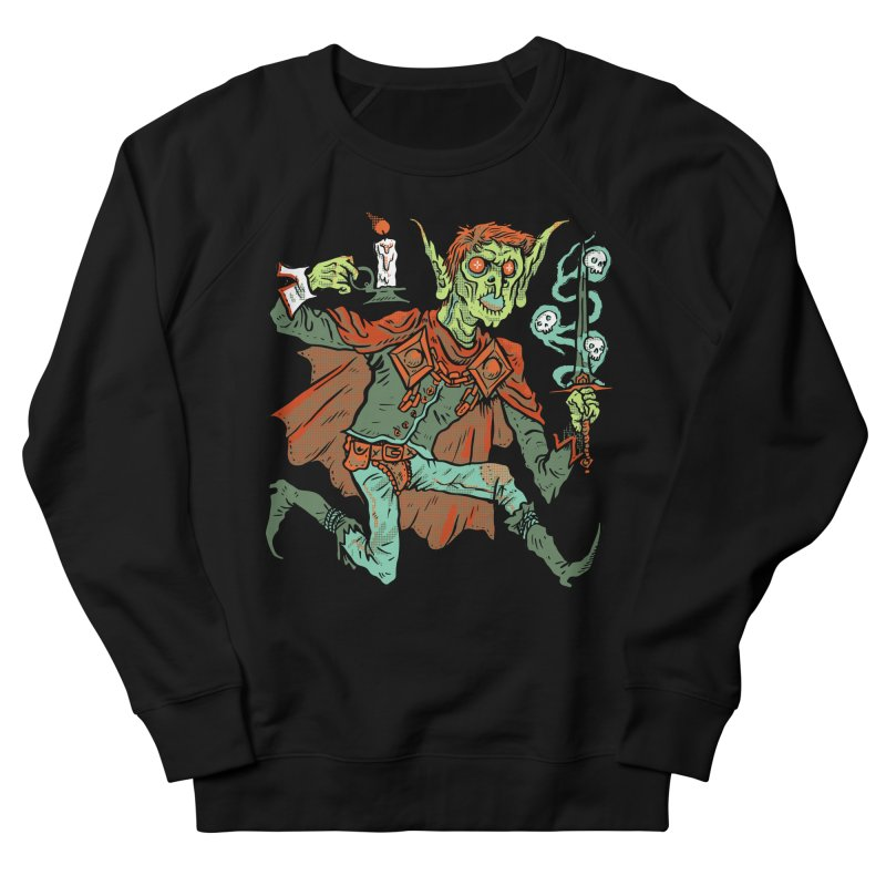 Gluborg Duke of Shadows Men's French Terry Sweatshirt by Things You Might Find In A Dungeon